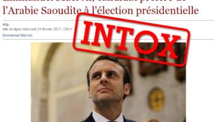 """Cet article a été publié sur une page qui est un """"clone"""" du site Internet du quotidien belge """"Le Soir""""."""