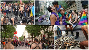 Several far-right organisations and their supporters have shared misappropriated photos on social media to denounce the Paris Pride March. In reality, these photos are old and some of them weren't even taken in Paris.