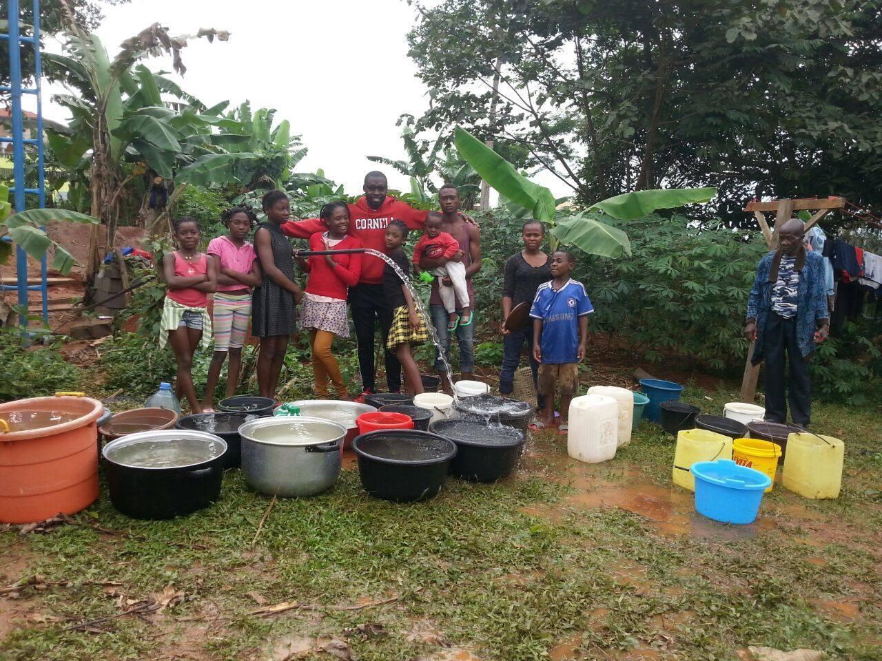 Franck a déjà construit trois puits dans sa région, en périphérie de Yaoundé. Photo : One Summer, one well.