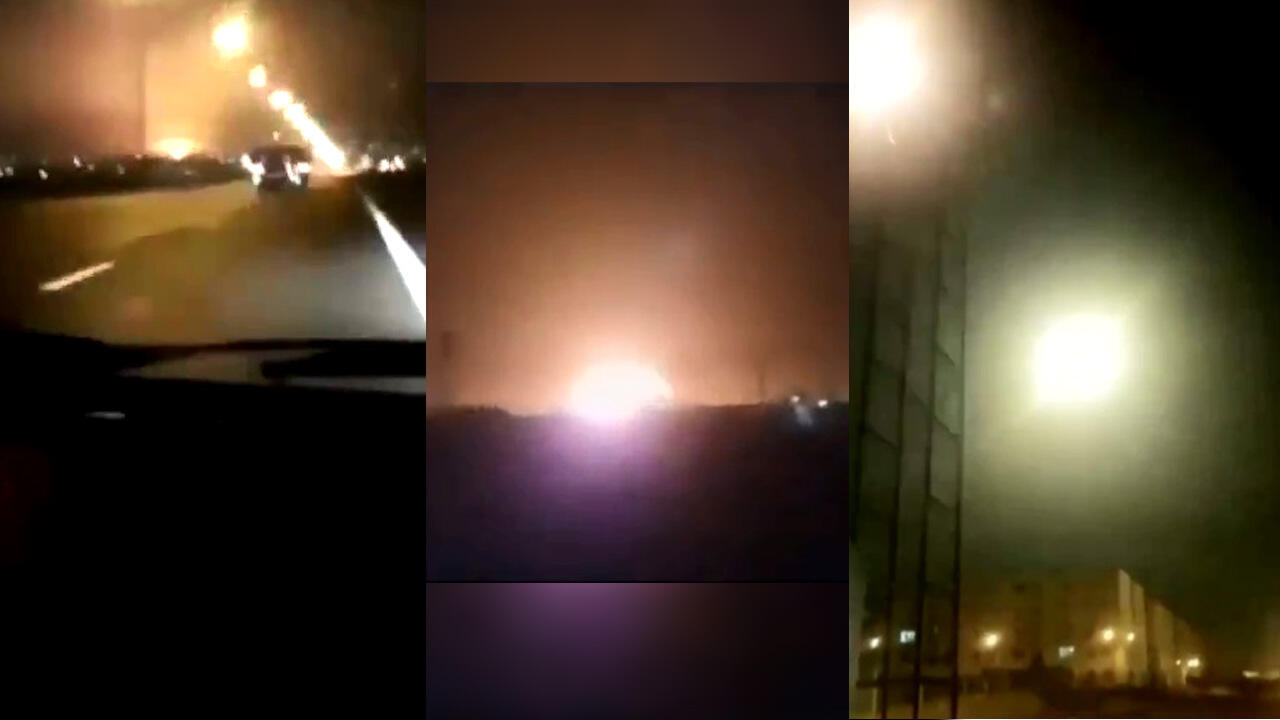 تبين 3 فيديوهات صورها ثلاثة هواة عدة مؤشرات على تحطم طائرة رحلة طهران-كييف،في 8 يناير/كانون الثاني 2020