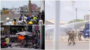 Des heurts ont éclaté à Cotonou jeudi 2 mai 2019. Images envoyées par nos Observateurs.