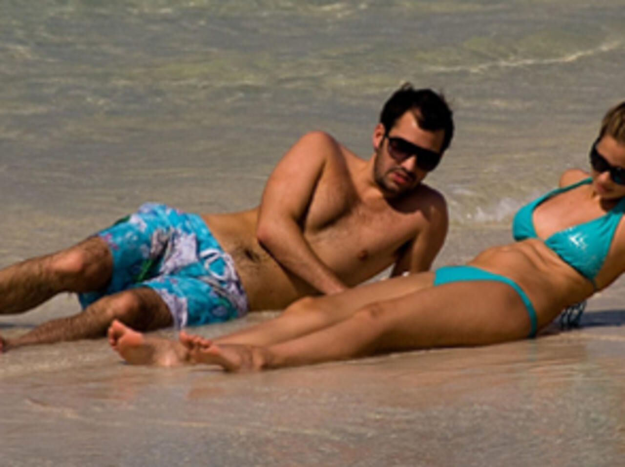 amateur beach couple sex