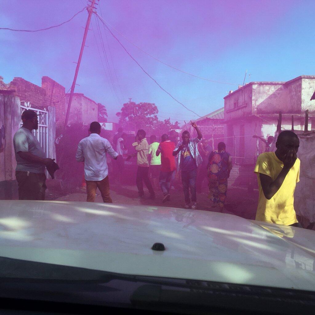 Des gaz lacrymogènes tirés à Lubumbashi pour disperser la marche de l'opposition réunie autour de Moïse Katumbi.
