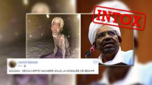 L'homme à gauche aurait été, selon des publications sur les réseaux sociaux, emprisonné dans les geoles de Omar el-Béchir pendant 24ans. Cette histoire est fausse.