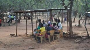 These Kenyan school girls are not going home for the holidays out of fear they may have to undergo female genital mutilation. This photo was taken in Nakwijit primary school in the Pokot region in Kenya. The photo was provided by our Observer.