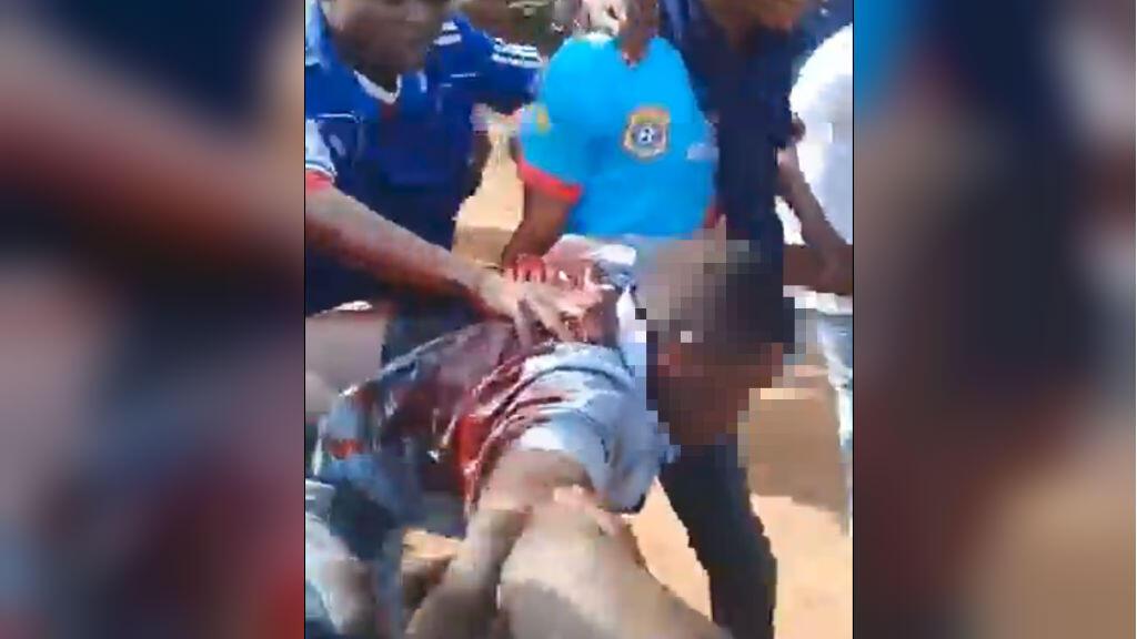 Capture d'écran d'une vidéo tournée à Lubumbashi lors de la visite du candidat Martin Fayulu.