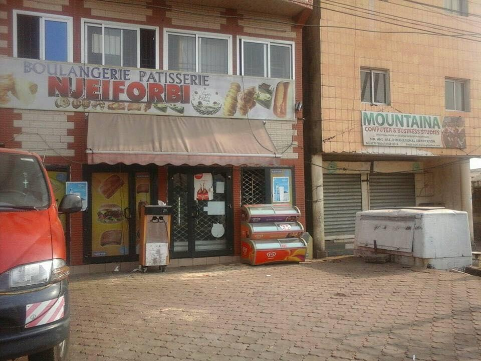 Closed shops in the town of Buea.