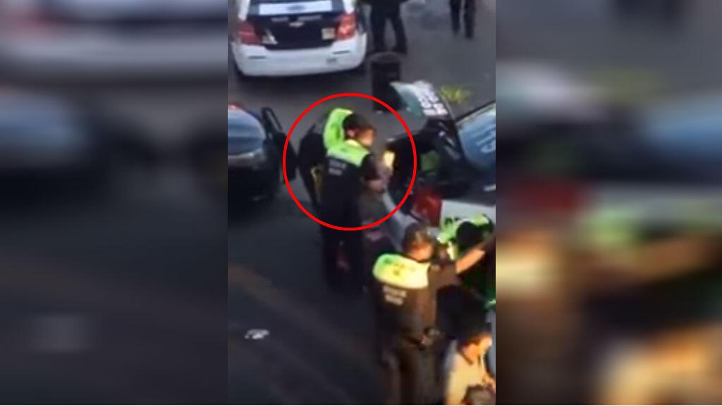 Capture d'écran d'une vidéo tournée à Ecatepec, une municipalité limitrophe de Mexico, le 4 janvier.