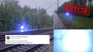 Un vidéaste amateur filmant une boule de feu autour d'un chemin de fer a intrigué plusieurs internautes, qui cherchent une explication à ce phénomène.