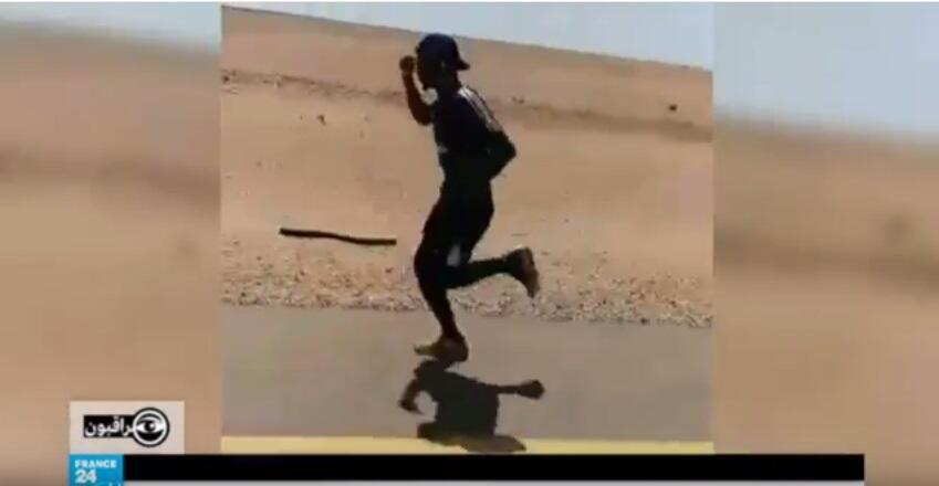 الشاب الليبي عبد السلام البصيري