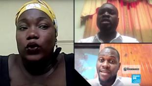 Dix ans après le séisme en Haïti, trois de nos Observateurs témoignent. Capture d'écran / émission Les Observateurs de France 24.