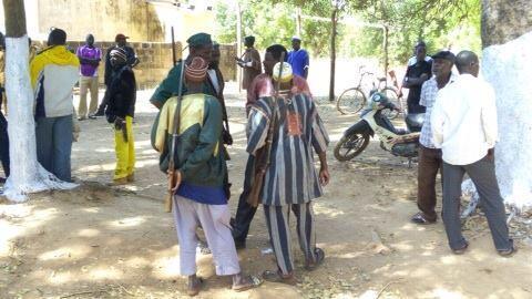 De nombreux Koglweogo se sont rassemblés à Kombissiri, le 3 décembre dernier. Photo : Clément Bassolé.