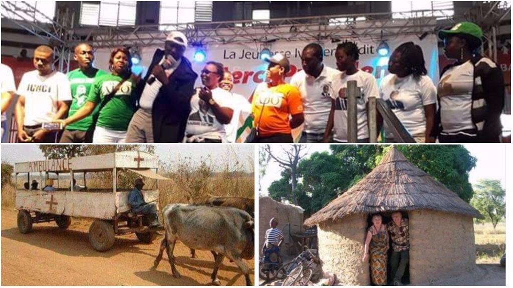 Lors d'un meeting présidentiel, le ministre de la Défense ivoirien a déclaré qu'avant Alassane Ouattara, il n'y avait pas d'avion ou d'hôtels en Côte d'Ivoire. Les internautes ivoiriens se sont moqués de sa déclaration avec ces images.