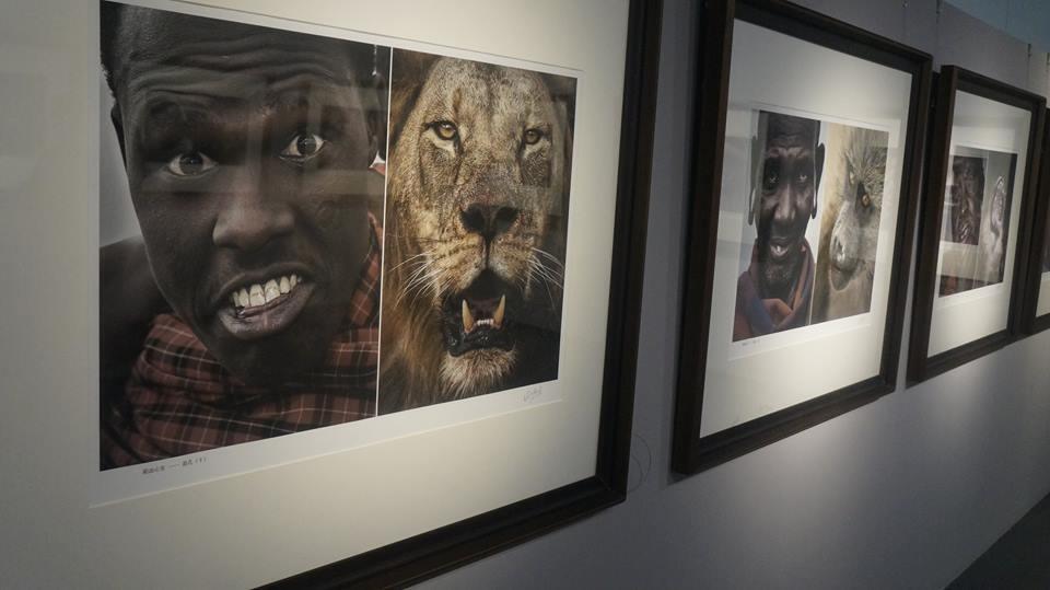 """Exposition """"This is Africa"""" au musée provincial du Hubei, dans l'est de la Chine. Photo prise début octobre par l'un de nos Observateurs."""