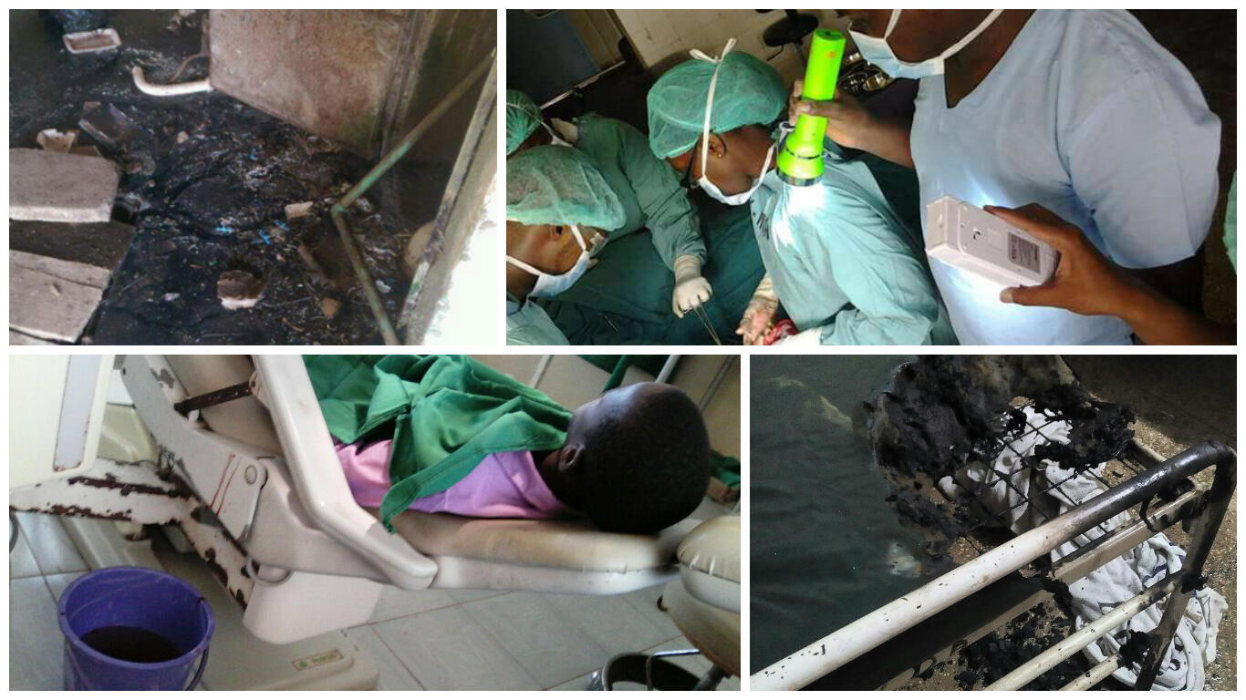 Kenyan doctors are are taking to Twitter to show their abhorrent working conditions.