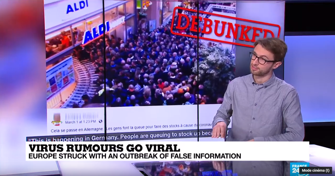 Observers journalist Peter O'Brien debunks some viral videos on the topic of the coronavirus.