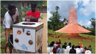 Que ce soit grâce à une machine ingénieuse, ou avec un système plus artisanal, ces inventions se battent pour l'accès à l'eau dans le monde !