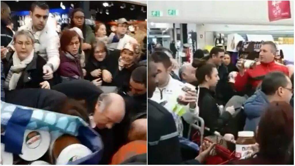 Dans plusieurs magasins Intermarché de France, les consommateurs se sont rués sur une promotion de pots de Nutella.