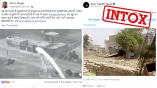 Une vidéo extraite d'un jeu vidéo et une photo faussement datée circulent notamment pour illustrer les vives tensions entre l'Inde et le Pakistan.