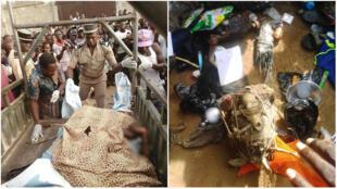 """De nombreuses images circulent sur les réseaux sociaux depuis début avril, montrant de prétendus """"gay-men"""" – des cyber-criminels béninois – victimes de la vindicte populaire au Togo."""