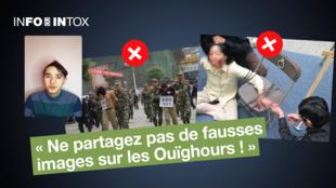 Ces images ont été présentées comme des violences faites aux Ouïghours... mais aucune n'est vraie. Alfred Erkin, militant de défense de cette communauté, explique pourquoi.