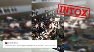 """Une vidéo prétendant montrer """"ce que la Chine cache"""" a effrayé sur les réseaux sociaux. Voici les dessous de ces images."""