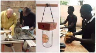 D'un côté, des retraités français transmettant leur savoir, et de l'autre, de jeunes Maliens mettant en pratique leurs connaissances... et le projet AfrikaSolar voit le jour à Bamako!