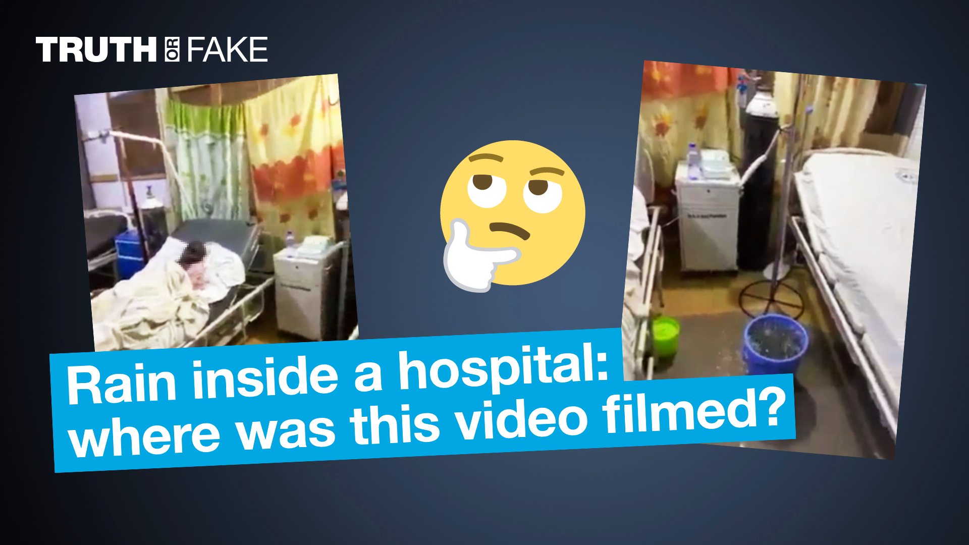 Web users say this video was filmed in the Democratic Republic of Congo, or in Cameroon. But it wasn't filmed in either of those countries.