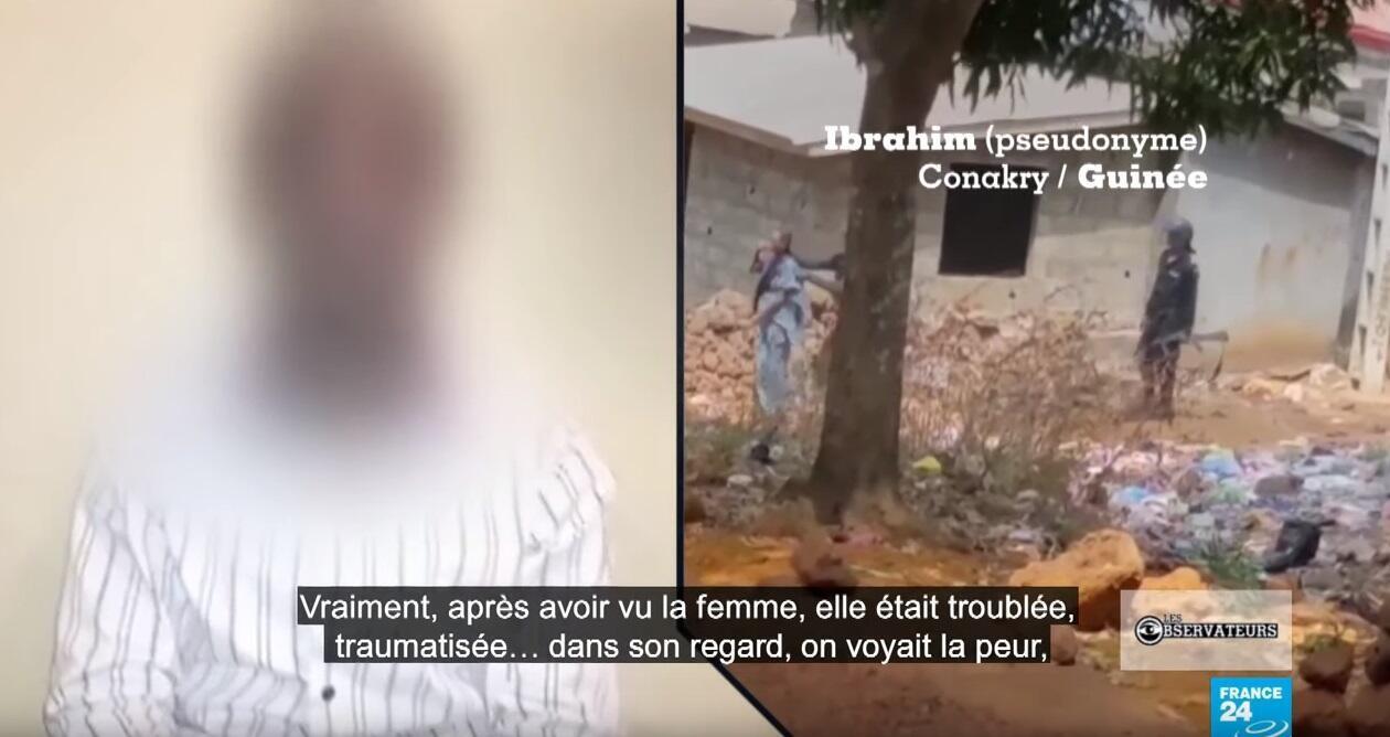 Cet homme est venu en aide à une jeune femme guinéenne utilisée comme bouclier humain par des policiers le 29 janvier dernier. Il témoigne sous couvert d'anonymat dans notre émission.