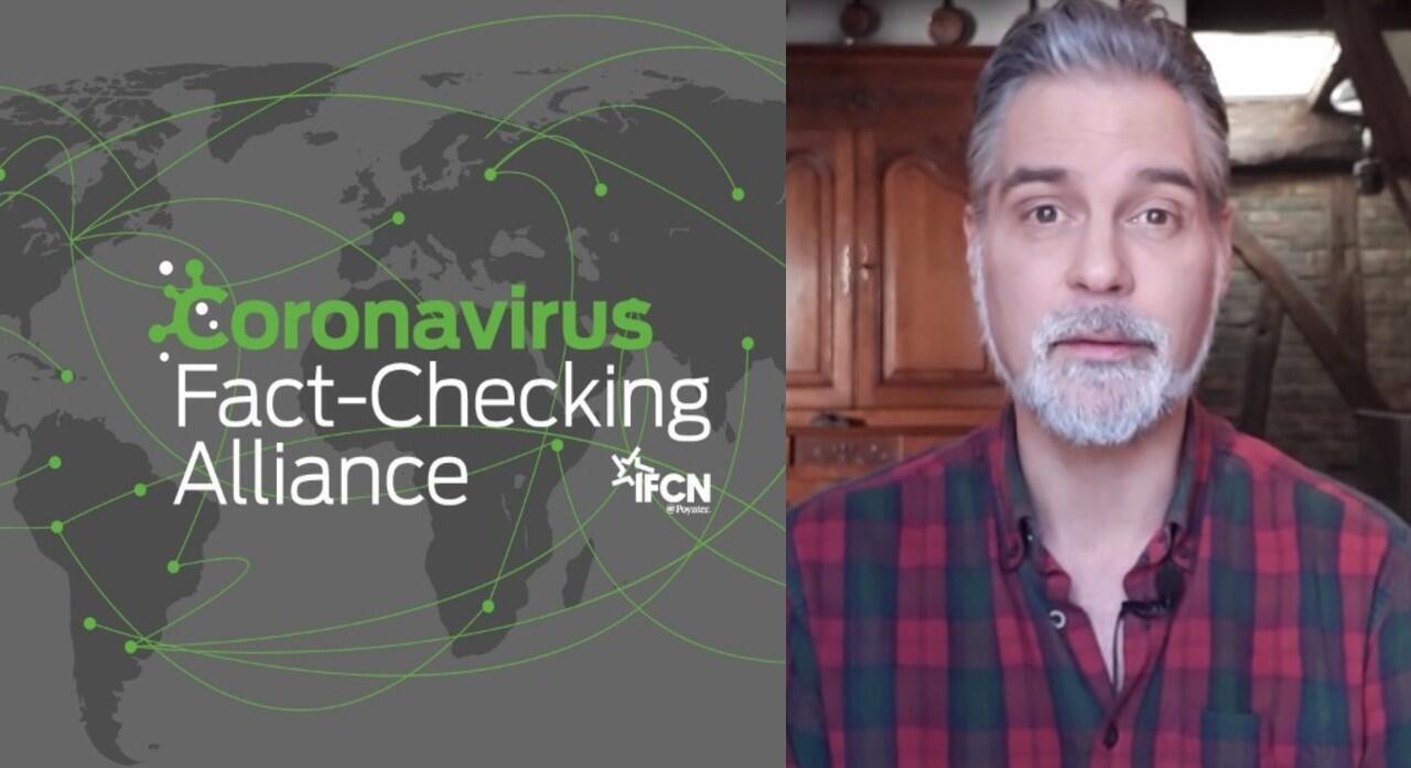 The International Fact-Checknig Network (IFCN) created the #CoronaVirusFacts Alliance to combat fake news about the COVID-19 pandemic. Derek Thomson of the France 24 Observers explains.
