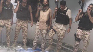 En fêtant la reprise d'une ville de l'est du pays à des insurgés chiites, plusieurs soldats saoudiens ont commis des dérapages, mardi 8 août 2017.
