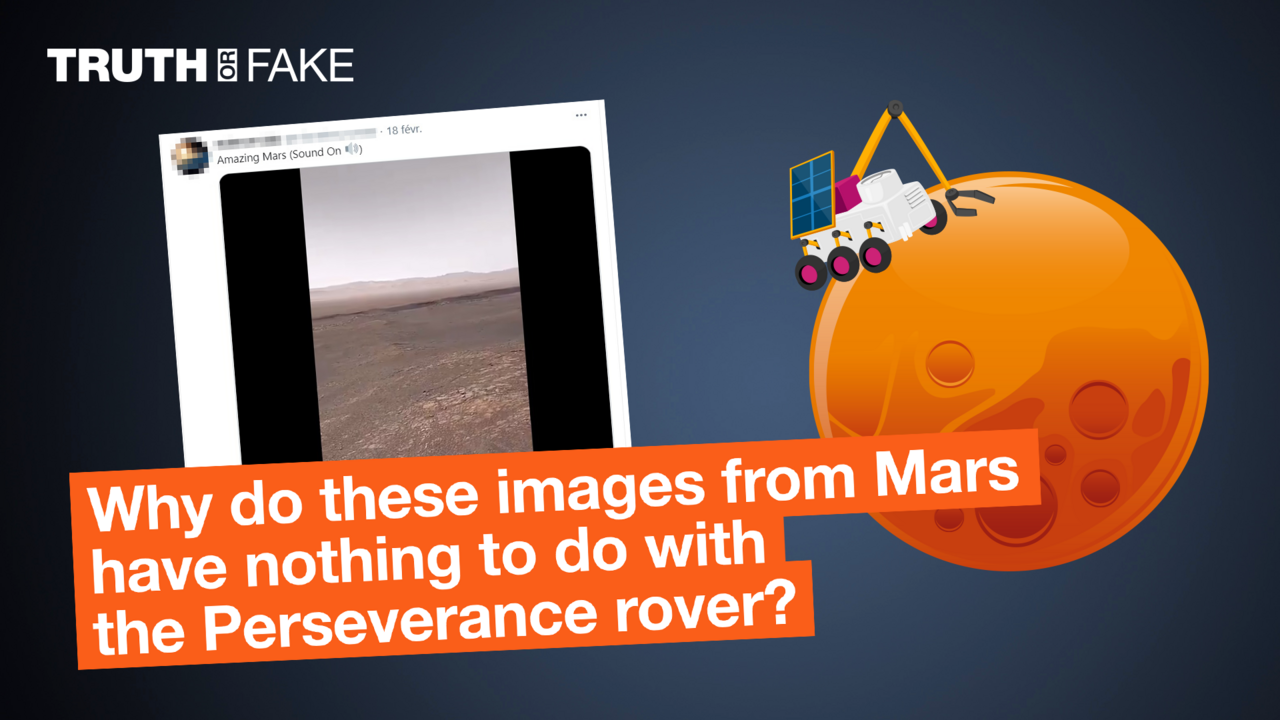 The Observers - Truth or Fake: Why these videos have nothing to do with the Mars Perseverance rover