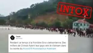 شایعه فرار مردم چین به سمت ویتنام