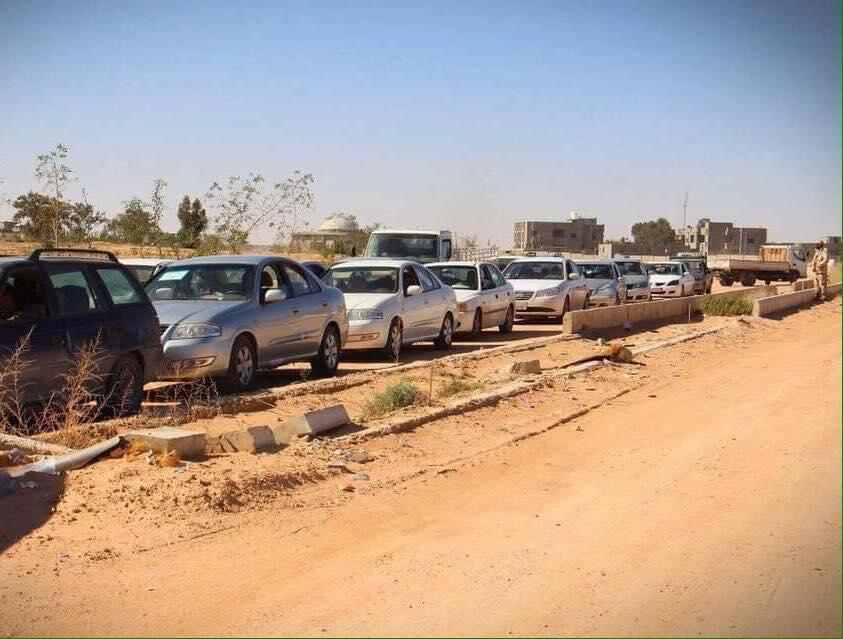 Dozens of displaced families from Sirte are eagerly waiting their turn to return to the city and recover their homes. Sirte was liberated from the hold of the Islamic State group in December 2016.