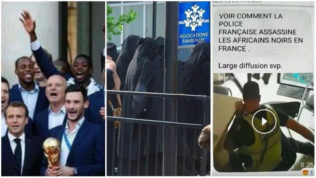 Simply cropping an image or framing it differently can easily mislead people. We take a look at several cases, including a photo of the French national football team and a video of police violence.