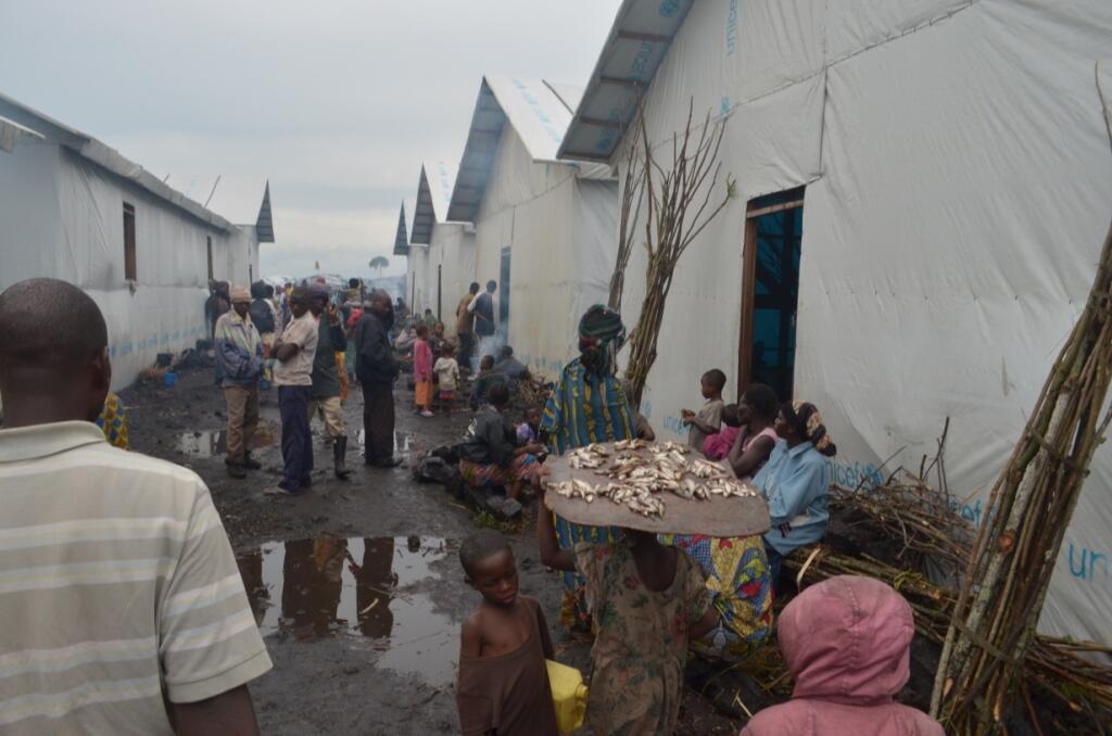 صورة التقطها مراقبنا شارلي كاسيريكا داخل مخيم موغونغا.