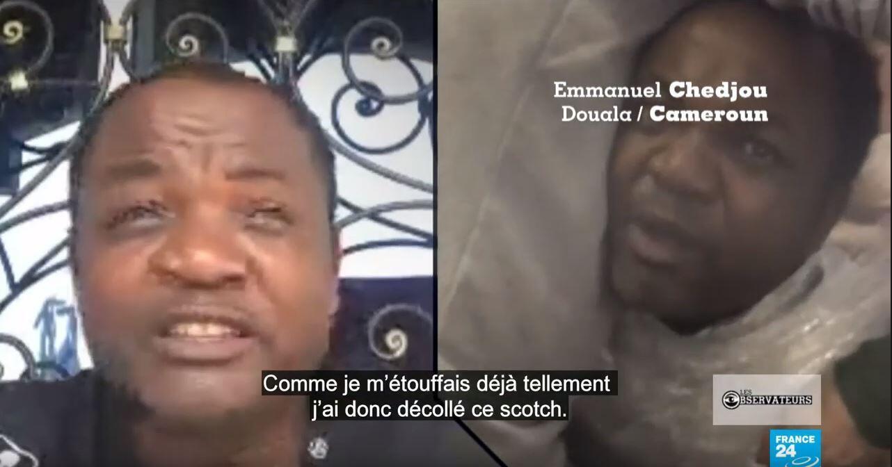 Emmanuel Chedjou témoigne du mauvais traitement dont il a été victime lors de son expulsion de Turquie.