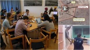 """Depuis 2016, l'ONG Amnesty International forme des étudiants à la vérification des images provenant des zones de crise, dans le cadre d'un programme appelé """"Digital Verification Corps"""" (DVC)."""