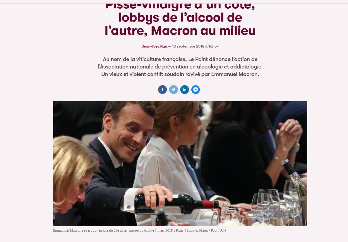 Photo initiale prise par un journaliste de l'AFP en mars 2018 et publiée sur le site de Slate.fr