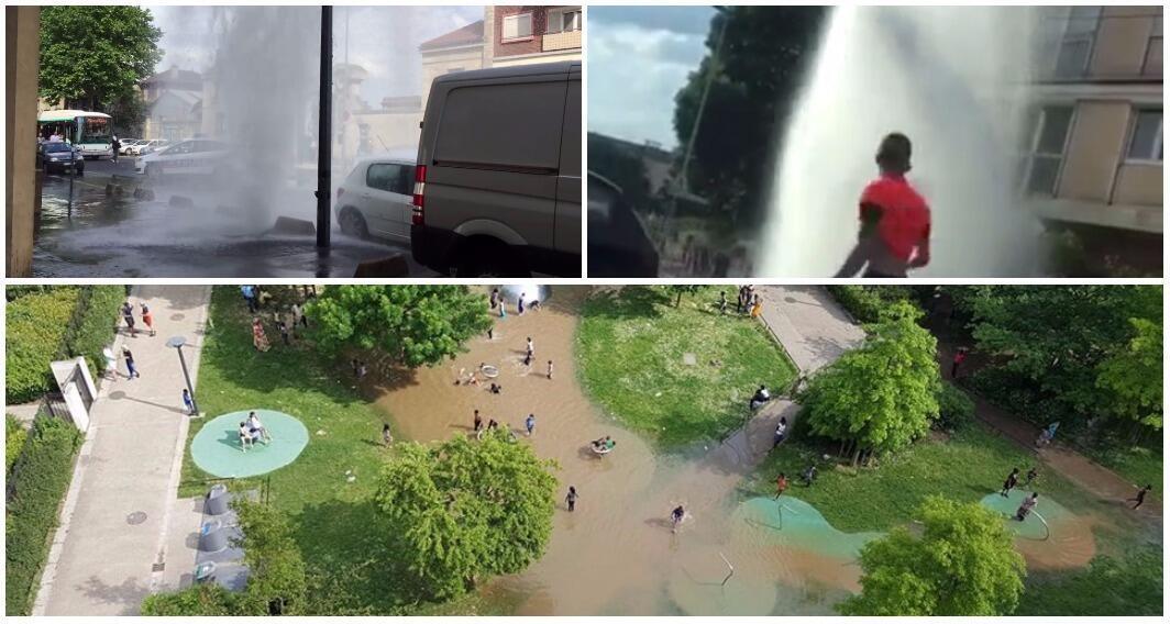 """Des exemples de """"street pooling"""" à Aulnay-sous-Bois et Saint-Ouen."""