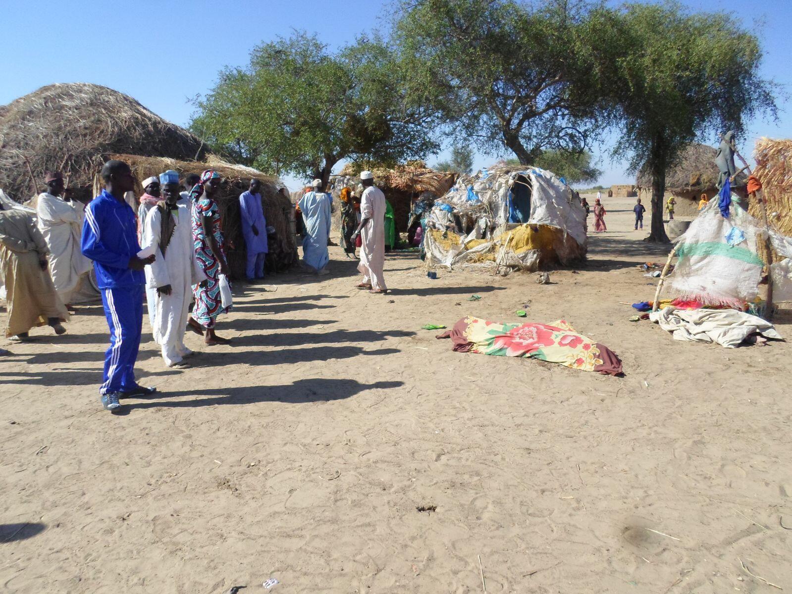 Le village de Nigué, à 2 km de Fotokol, où s'est produit l'attentat-suicide. Toutes les photos ont été prises samedi 21 novembre par notre Observateur sur place.