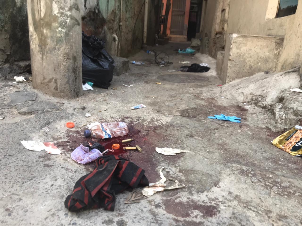 Plusieurs activistes ont recueilli les témoignages des habitants de la favela de Jacarezinho, dans le nord de Rio de Janeiro, au Brésil, après une opération policière meurtrière le 6 mai 2021.