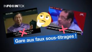 Un professeur chinois qui parle du déclin de la France, ou un homme qui s'énerve et critique le Coran ? Ces vidéos sous-titrées sont des intox !