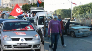 Photos of the Tunisian revolution published by the France 24 Observers team in January 2011.