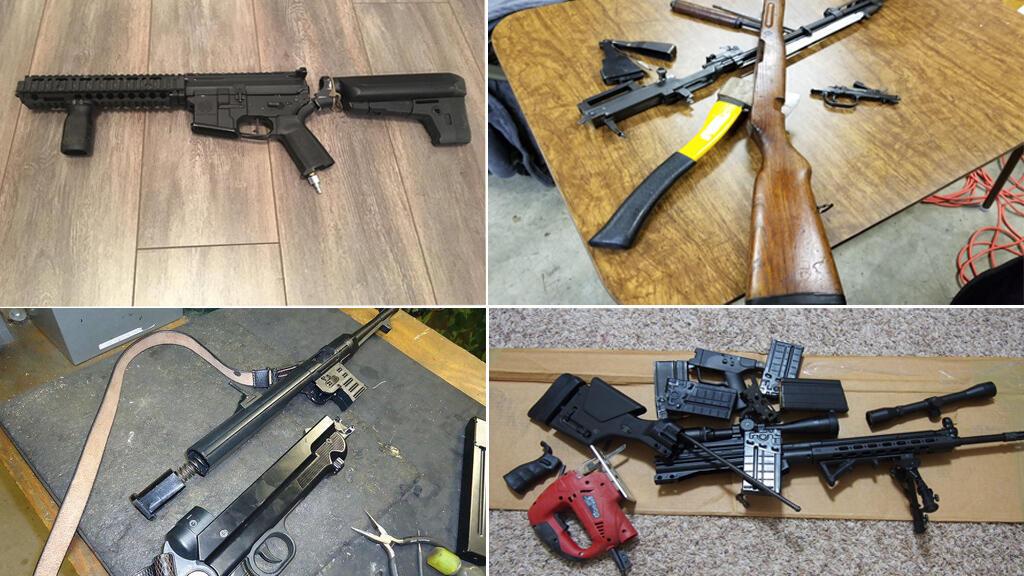 العديد من الأمريكيين قاموا بنشر صور لأسلحتهم الشخصية وقد قاموا بتحطيمها.