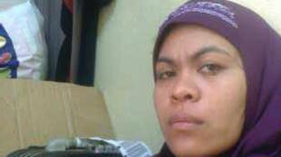 Nargelene Mendez, une employée domestique philippine maltraitée par son employeur saoudien.