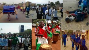 Ces images ont toutes été publiées par SOS Médias Burundi depuis un an.