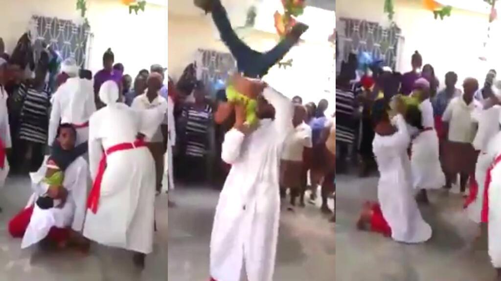 Un pasteur haïtien est devenu tristement célèbre sur les réseaux sociaux pour avoir malmené un enfant dans une vidéo de six minutes. Plusieurs Haïtiens ont demandé son arrestation.
