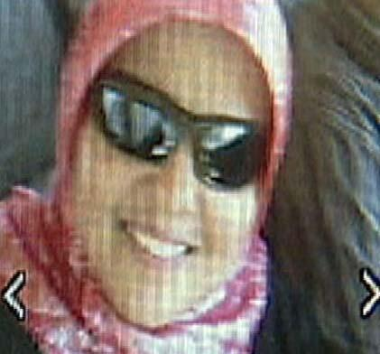 صورة نشرها حيدر آييرو على صفحة One million hijab for Shaima Alawadi [مليون حجاب من أجل شيماء العوادي] على موقع فيس بوك.