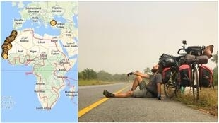Hasan Söylemez is planning to travel across the African continent's 54 countries in five years.